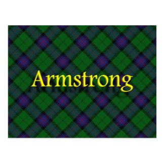 Cartão Postal Clã escocês Armstrong