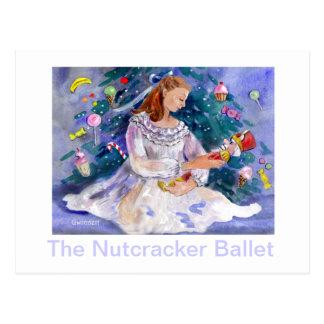 Cartão Postal Clara e o Nutcracker