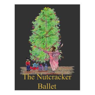 Cartão Postal Clara & os presentes do Nutcracker