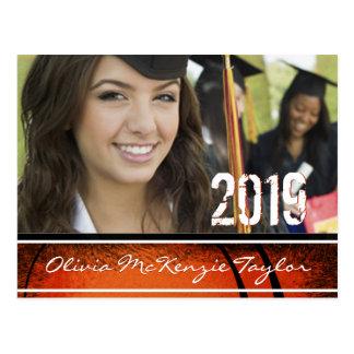 Cartão Postal Classe da foto de casa aberta da graduação