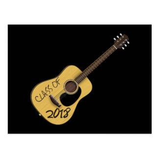 Cartão Postal Classe da guitarra 2018