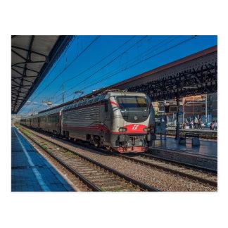 Cartão Postal Classe E-402 de Italia no trem de passageiro