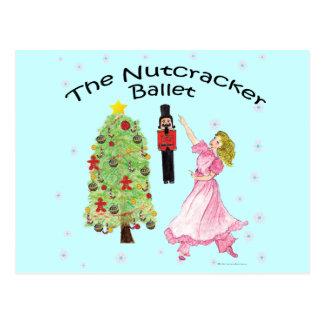 Cartão Postal Clássico 09 do balé do Nutcracker