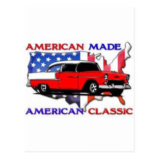 Cartão Postal Clássico americano