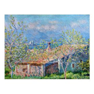 Cartão Postal Claude Monet: Os jardineiro abrigam em Antibes