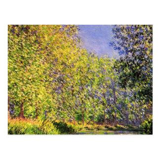 Cartão Postal Claude Monet uma curvatura do Epte