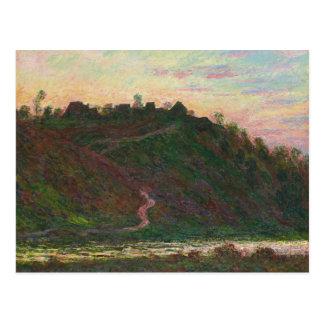 Cartão Postal Claude Monet - vila do La Roche-Loura
