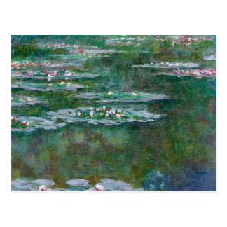 Cartão Postal Claude Monet //Waterlilies