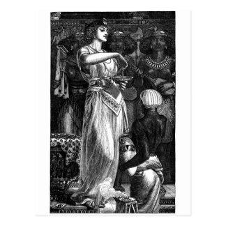 Cartão Postal Cleopatra