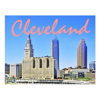 Cartão Postal Cleveland, Ohio, EUA