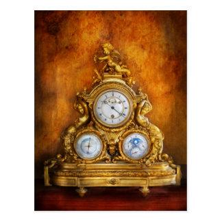 Cartão Postal Clockmaker - qualquer um tem o tempo