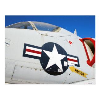 Cartão Postal Close up de A4 Skyhawk