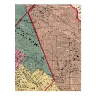 Cartão Postal Cloverdale, Washington, Mendocino