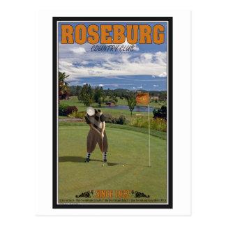 Cartão Postal Clube de Roseburg - pndo
