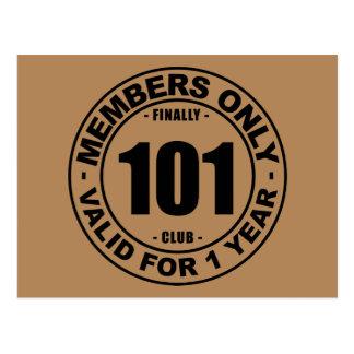 Cartão Postal Clube finalmente 101
