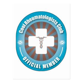 Cartão Postal Clube legal dos Rheumatologists