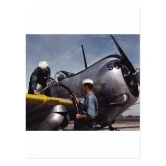 Cartão Postal Cobrindo fora dos tanques, 1942