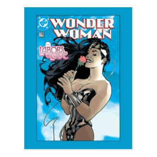 Cartão Postal Cobrir cómico #178 da mulher maravilha
