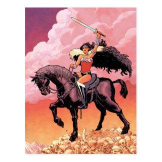 Cartão Postal Cobrir novos #24 cómico da mulher maravilha 52