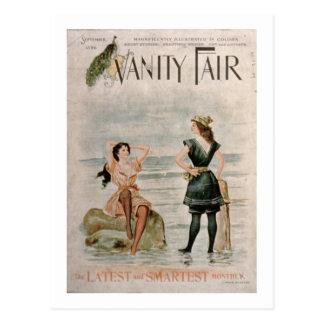 """Cartão Postal Cobrir para """"Vanity Fair"""", em setembro de 1896 (li"""