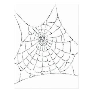 Cartão Postal Cobweb