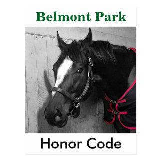 Cartão Postal Código da honra