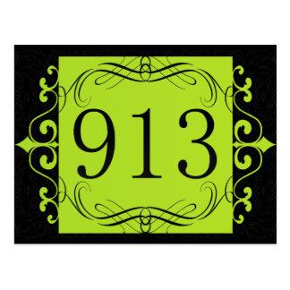 Cartão Postal Código de área 913
