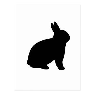 Cartão Postal coelho dos desenhos animados