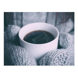 Cartão Postal Coffee and mitt