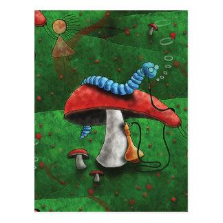 Cartão Postal Cogumelo mágico