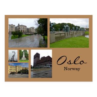 Cartão Postal Colagem 1 de Oslo