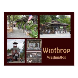 Cartão Postal Colagem 1 de Winthrop