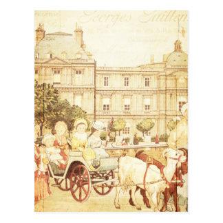 Cartão Postal Colagem do livro de histórias das crianças do