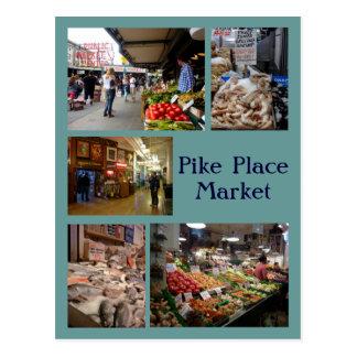 Cartão Postal Colagem do lugar de Pike