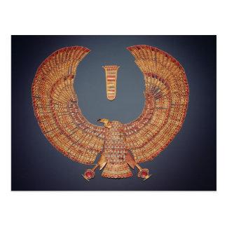 Cartão Postal Colar sob a forma da deusa do abutre