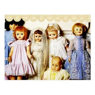Cartão Postal Coleção da boneca