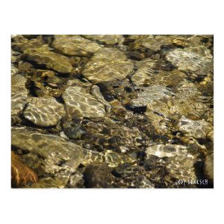 Cartão Postal Coleção da natureza da piscina da rocha