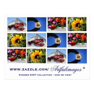 Cartão Postal Coleção de 2007 verões