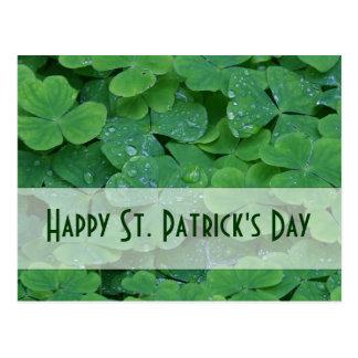 Cartão Postal Coleção do dia do St. Patricks