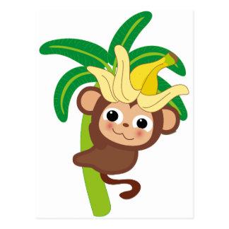 Cartão Postal Coleção pequena 105 do macaco