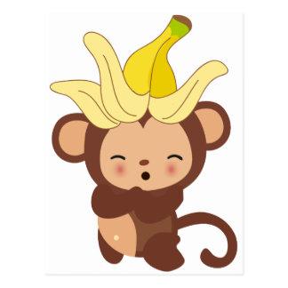 Cartão Postal Coleção pequena 108 do macaco