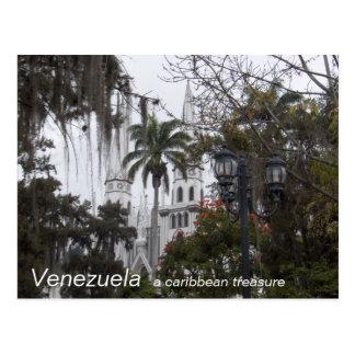 Cartão Postal Coleção VENEZUELA, um tesouro das caraíbas