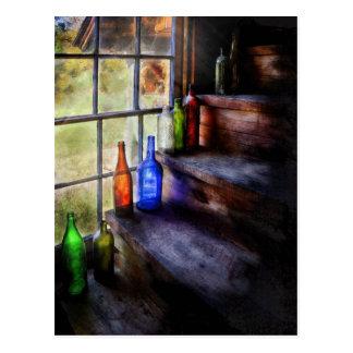 Cartão Postal Coletor - uma coleção das garrafas