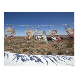 Cartão Postal Coletores do sonho de nativo americano para a