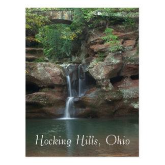 Cartão Postal Colinas de Hocking, Ohio