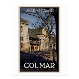 Cartão Postal Colmar - a casa velha de alfândega
