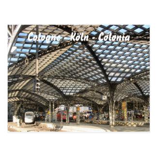 Cartão Postal Cologne - colônia Colonia -