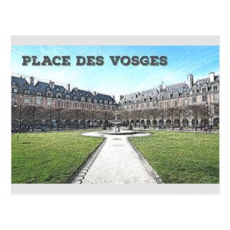 Cartão Postal Coloque DES Vosges