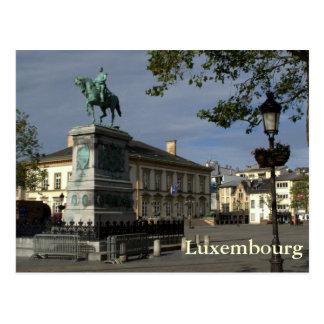 Cartão Postal Coloque Guilherme II, Luxembourg