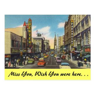 Cartão Postal Colorado, Denver do centro